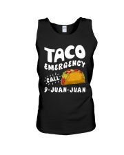 Taco Emergency Call 9 Juan Juan T-Shirt Unisex Tank tile