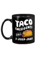 Taco Emergency Call 9 Juan Juan T-Shirt Mug back