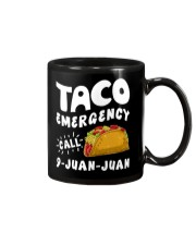 Taco Emergency Call 9 Juan Juan T-Shirt Mug thumbnail