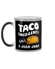 Taco Emergency Call 9 Juan Juan T-Shirt Color Changing Mug color-changing-left