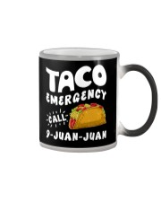 Taco Emergency Call 9 Juan Juan T-Shirt Color Changing Mug tile
