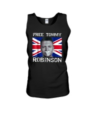 Tommy Robinson T-Shirt Unisex Tank tile