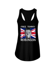 Tommy Robinson T-Shirt Ladies Flowy Tank tile