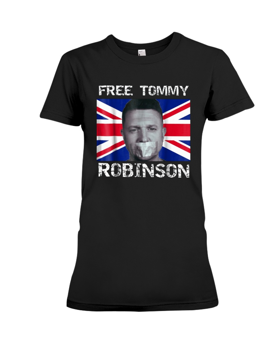 Tommy Robinson T-Shirt Premium Fit Ladies Tee