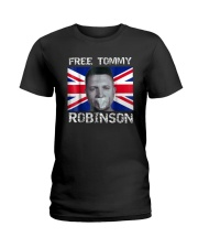 Tommy Robinson T-Shirt Ladies T-Shirt tile
