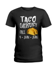 Emergency Call 9 Juan Juan Unisex Shirt Ladies T-Shirt thumbnail