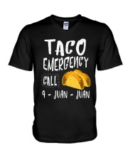 Emergency Call 9 Juan Juan Unisex Shirt V-Neck T-Shirt thumbnail