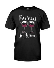 Partners In Wine T-Shirt Classic T-Shirt front