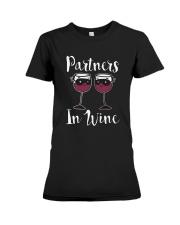 Partners In Wine T-Shirt Premium Fit Ladies Tee thumbnail