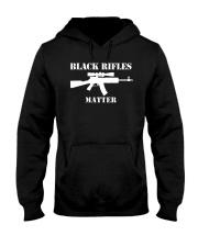 Black Rifles Matter 2018 Shirt Hooded Sweatshirt thumbnail