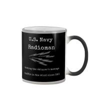 US Navy Radioman Tee Shirt Color Changing Mug thumbnail