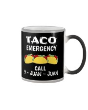 Emergency Call 9 Juan Juan T-Shirt Color Changing Mug thumbnail