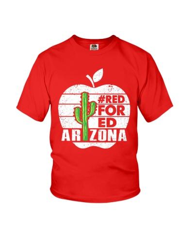 Red For Ed Arizona Teacher Tees
