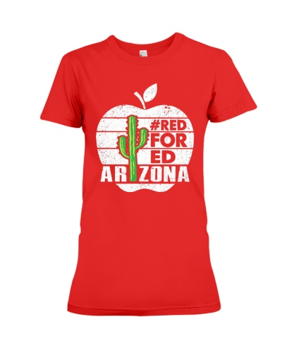 Red For Ed Arizona Teacher Tees
