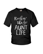 Rocking The Aunt Life T-Shirt Youth T-Shirt thumbnail