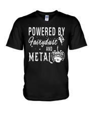 By Fairy Dust And Metal Music T-Shirt V-Neck T-Shirt thumbnail