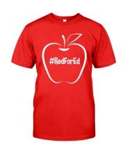 Hashtag RedForEd T-Shirt Classic T-Shirt thumbnail