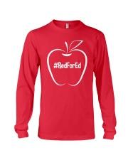Hashtag RedForEd T-Shirt Long Sleeve Tee thumbnail