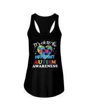 It's OK To Be Different Autism T-Shirt Ladies Flowy Tank thumbnail