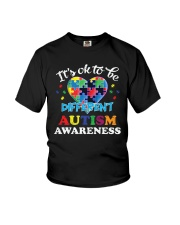 It's OK To Be Different Autism T-Shirt Youth T-Shirt thumbnail