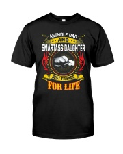 Asshole Dad And Smartass Daughter Shirt Premium Fit Mens Tee thumbnail