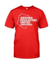 Arizona RedForEd Shirt Classic T-Shirt thumbnail