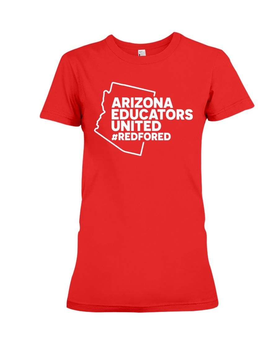 Arizona RedForEd Shirt Premium Fit Ladies Tee