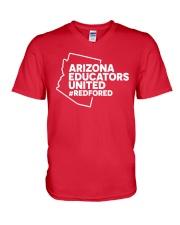 Arizona RedForEd Shirt V-Neck T-Shirt thumbnail