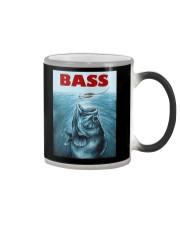 Bass Fishing T-Shirt Color Changing Mug thumbnail