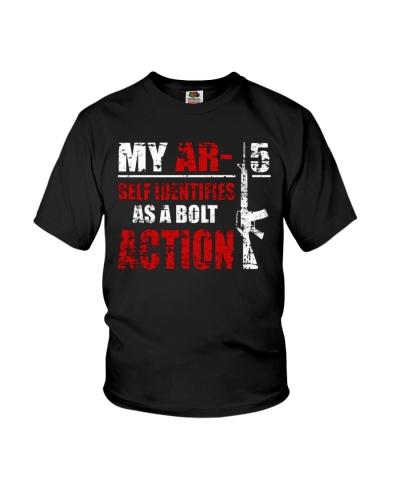 My AR-15 Self Identifies Action Shirt
