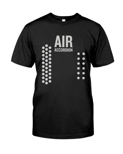 Funny Air Accordion T-Shirt Musical