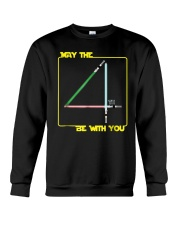 May The 4th Be With U You Funny Shirt Crewneck Sweatshirt tile