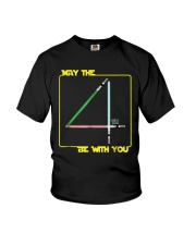 May The 4th Be With U You Funny Shirt Youth T-Shirt thumbnail