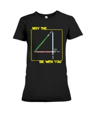 May The 4th Be With U You Funny Shirt Premium Fit Ladies Tee front