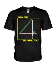 May The 4th Be With U You Funny Shirt V-Neck T-Shirt thumbnail
