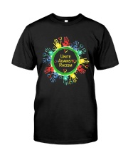 Anti Racism T Shirt Unite Against Racism Premium Fit Mens Tee thumbnail