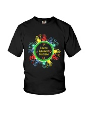 Anti Racism T Shirt Unite Against Racism Youth T-Shirt thumbnail