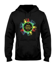 Anti Racism T Shirt Unite Against Racism Hooded Sweatshirt thumbnail