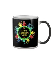 Anti Racism T Shirt Unite Against Racism Color Changing Mug thumbnail
