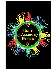 Anti Racism T Shirt Unite Against Racism 24x36 Poster thumbnail