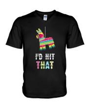 I'd Hit That Pinata Gift T-Shirt V-Neck T-Shirt thumbnail