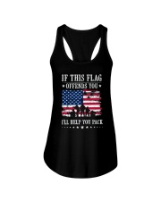 If This Flag Offends You T-Shirt Ladies Flowy Tank thumbnail