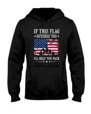 If This Flag Offends You T-Shirt Hooded Sweatshirt thumbnail