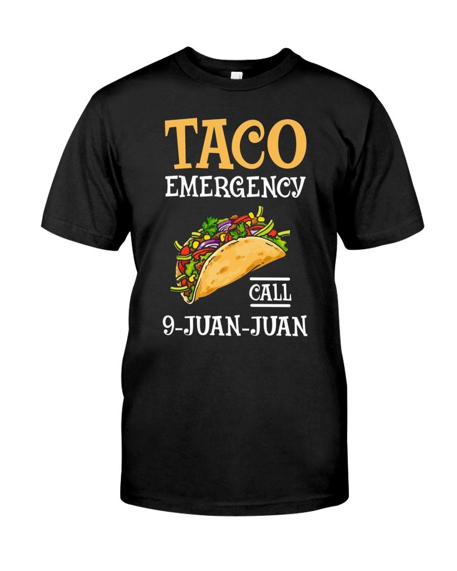 Emergency Call 9 Juan Juan Classic Shirt Premium Fit Mens Tee