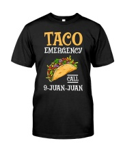 Emergency Call 9 Juan Juan Classic Shirt Premium Fit Mens Tee tile