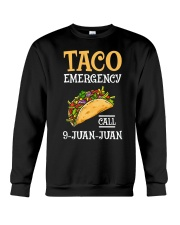 Emergency Call 9 Juan Juan Classic Shirt Crewneck Sweatshirt thumbnail