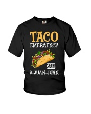 Emergency Call 9 Juan Juan Classic Shirt Youth T-Shirt thumbnail