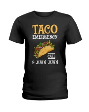 Emergency Call 9 Juan Juan Classic Shirt Ladies T-Shirt front