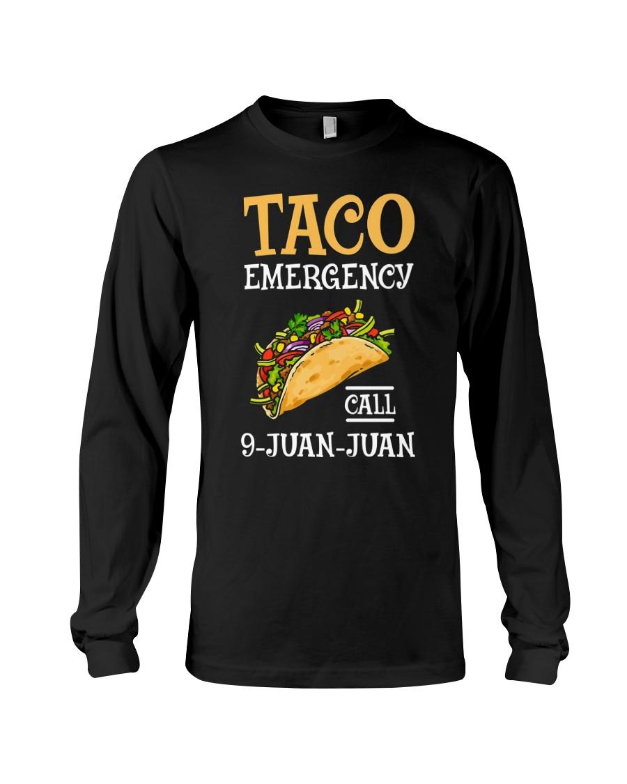 Emergency Call 9 Juan Juan Classic Shirt Long Sleeve Tee