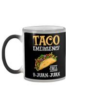 Emergency Call 9 Juan Juan Classic Shirt Color Changing Mug color-changing-left